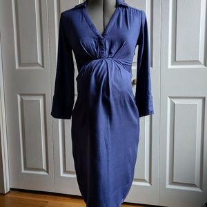 Isabella Oliver purple maternity dress size 0